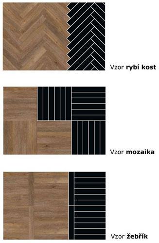 Pokládka vinylové podlahy.