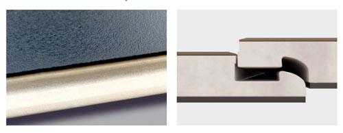 Zámek vinylové podlahy Expona Clic 19dB