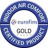 Certifikát Indoor Air Quality omezuje maximální množství volných těkavých látek.