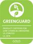 Vinylová podlaha Aquafix Click splňuje limity pro certifikát Greenguard Gold.